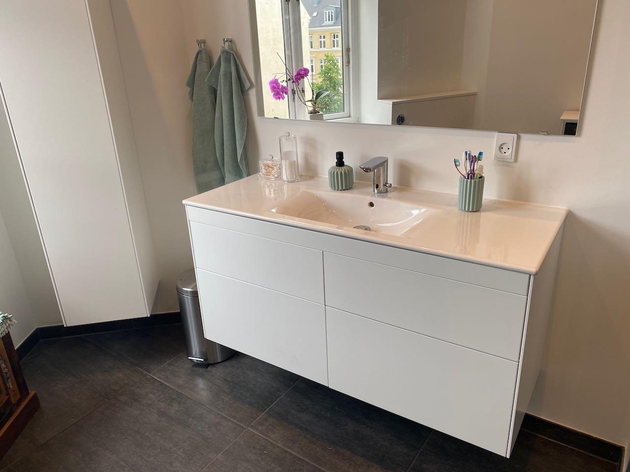 Etablering af nyt badeværelse i københavn af badcompagniet